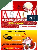 4TH ROUND ASAGANET Promo -DEC 2011