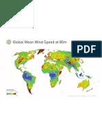 3tier 5km Global Wind Speed