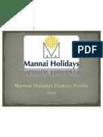 mannai holidays product profile