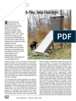 HP Solar Food Dryer Article
