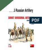 Russian Artillery Diorama