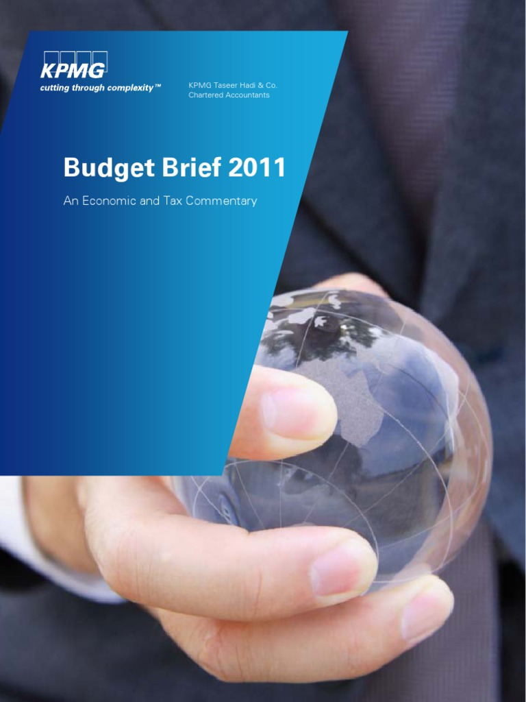 KPMG Budget Brief   Government Budget Balance   Fiscal Policy
