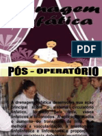 pdfSLIDES DRENAGEM LINFATICA PÓS OPER