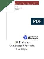 TRABALHO 2 Computação