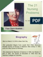 Faye Glenn Abdellah Ppt Report