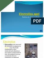 Electroliza apei