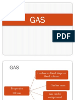 Properties of Gas
