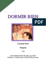 Carmela París - Dormir Bien