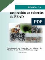 Inspeccion en Tuberias Pead