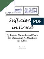 Sufficiency in Creed (Lumat-Ul-Itiqaad) by Imam Ibn Qudaamah Al-Maqdisee