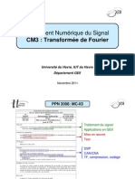CM3 - MC-II3 - Transformée de Fourier