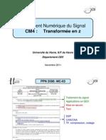 CM4 - MC-II3 - Transformée en z