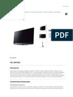 Sony Internet Televisores KDL-46EX525 - BRAVIA - Televisores de alta definición - Sony Venezuela
