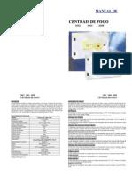 Manual Da Central de Fogo ALPHA3002