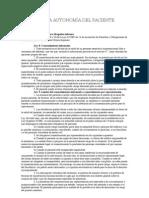 4.-Artículo Abogados Gómez Menchaca:RESPETO A LA AUTONOMÍA DEL PACIENTE