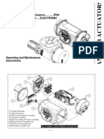 Antrieb Actuators O & M Catalogue