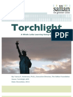 A Whole Lotta Learning Going On | Torchlight #39 | Nancy Anderson, Ph.D. | The Sallan Foundation