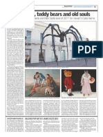 Giants spiders, teddy bears and old souls Best of 2011 Buenos Aires Herald by Carla Harms.