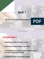 BAB 1 Pengantar Ekonomi Strategi