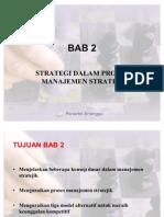 BAB 2 Strategi Dalam Proses Manajemen Strategi
