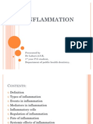 Inflammation | Inflammation | Cell Biology