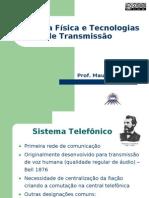 Redes I - 2.2 - Camada Física e Tecnologias de Transmissão