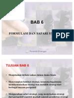 BAB 6 Formulasi Dan Safari Strategi