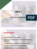 BAB 8 Strategi Korporat