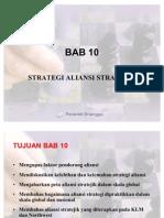 BAB 10 Strategi Aliansi Strategic