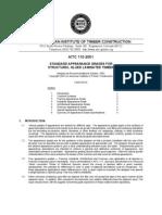 AITC 110-2001 Standard Appearance Grades