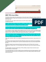 Blog Coverage_Oct 14, 2008_2007 IPOs Lose $3bn