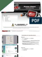 Dynojet Power Vision Short Manual