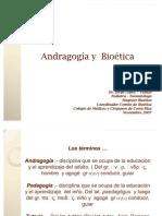 Andragogía y Bioética