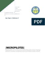 Hugo J Cárdenas V Micropilotes