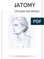 anatomy drawing  Part ( 1 )