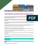 AndhraVilas_Oct 10, 2008_Market Mayhem Continues Despite Liquidity Injection