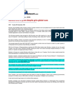 BigNews_Sept 30, 2008_Markets End in Green Despite Grim Global Cues
