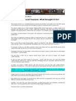 Blog Coverage_Bella Caio_Oct 10, 2008_Financial Tsunami - What Brought It On