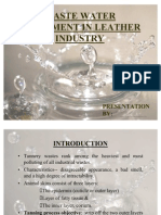 2003-Waste Water Treatment in Leather Industry