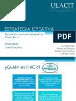 Estrategia y Procesos Creativos