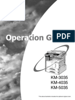 KM-3035-4035-5035-OPERATION GUIDE
