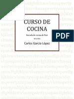 Curso de Cocina Completo - Carlos Garcia