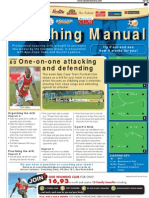 One-on-one attacking  and defending