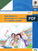 Guía Básica de Prevención de la Violencia en el Ambito Escolar
