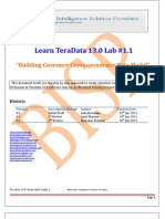 Building Customer Correspondense DataModel
