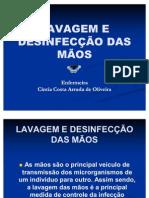 Lavagem e Desinfeccao Das Maos