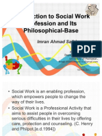 Intoruction to Social Work and Philosophy of Social Work-By-Imran Ahmad Sajid
