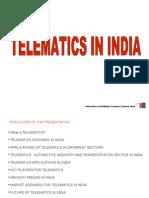 0726_telematics in India-Mr. Amitabh BAJPAI