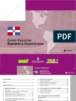 Como exportar para república dominicana