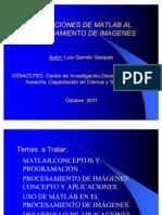 Aplicaciones de Matlab Al Procesamiento de Imagenes